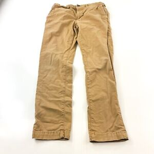 AMERICAN EAGLE Extreme Flex Slim Tan Beige Pants Men's 28 x 30 Stretch Flat Zip