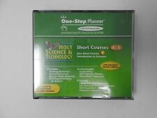 One- Stop Planner Short Courses A-E