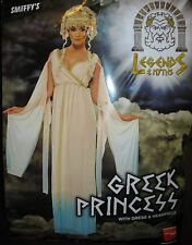 Greek Princess Costume Dress with Leaf Headpiece Adult Size 1X New #X281