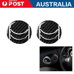 10Pcs Carbon Fiber Interior Air Vent Outlet Cover Trim For Nissan 350Z 2006-2009