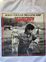 """JOHN COUGAR MELLENCAMP-Scarecrow- 12"""" Vinyl Record LP - EX"""