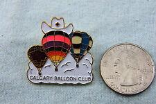 HOT AIR BALLOON PIN CALGARY BALLOON CLUB