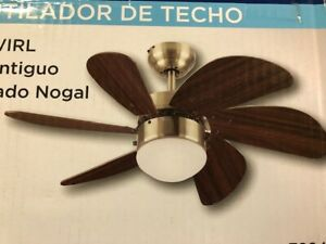 "Westinghouse Lighting 7824865 Turbo Swirl Single-Light 30"" 6 Blade Ceiling Fan"
