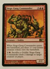 MTG Magic the Gathering, 'Siege Gang Commander', M10, NM.