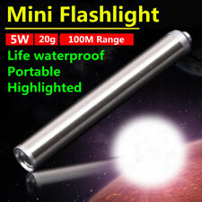 Alloy 5W MINI LED Flashlight Pocket Tactical Flashlight Torch LED AAA Pen Light