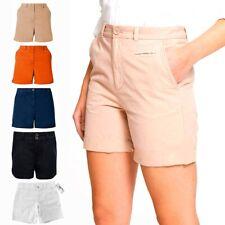 Ladies Women Summer Shorts Ladies Casual Cotton Shorts Fashion New Size 6-20