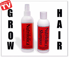 REGROW THICK FULL HAIR NUTRIFOLICA COMBO CURE DHT HAIR LOSS treatment & shampoo
