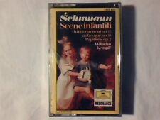 WILHELM KEMPFF Schumann: Scene infantili / Arabesque / Papillons mc cassette k7