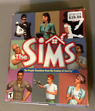 The Sims PC Big Box Game First Edition / First Cover Very RARE
