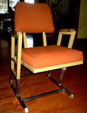 FRANK LLOYD WRIGHT AUTHENTIC CHAIR DESIGNED FOR KALITA HUMPHREYS THEATER 1959