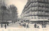 CPA 75 PARIS VIIe CARREFOUR DU BOULEVARD RASPAIL ET DE LA RUE DE BABYLONE (rare