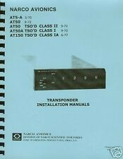 NARCO TRANSPONDERS  INSTALLATION MANUALS
