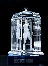 Officially Licensed Doctor Who Crystal TARDIS (Peter Capaldi)