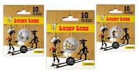 Pack 3 Medailles Touristique Monnaie Paris Colorisée LUCKY LUKE ! Vague 2