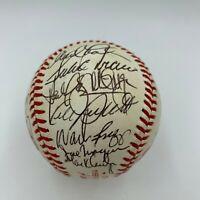 1989 All Star Game Signed Baseball Kirby Puckett Cal Ripken Nolan Ryan JSA COA