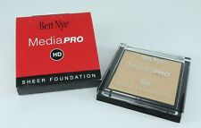 Ben Nye HD Media Pro Sheer Foundation Shinsei Fairest .63 oz New in Box