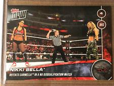 2016 Topps NOW WWE #40 Nikki Bella ~ TLC ~ Print Run 93