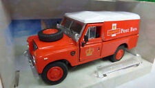 Cararama 1:43 Land Rover Serie III 109 Post Bus Nr.251XD in OVP (A494)