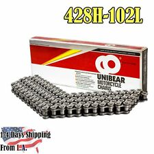 428H Heavy Duty Motorcycle Chain 102 Links with 1Connecting Link