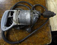 "Vintage Black & Decker 1/4 "" Electric Drill Cat# 32 Aluminum HEAVY DUTY  Antique"