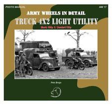 Truck 4x2 Light Utility Morris 10Hp & Standard 12Hp book WW2 US Army Military