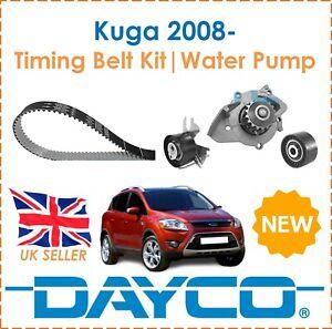 For Ford Kuga MK1 MK2  2.0TDCi & 4x4 2008-  Dayco Timing Belt Kit & Water Pump