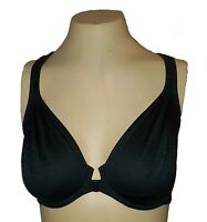 Vintage Bra Body by Victoria's Secret Front-Close Molded Racerback UW Black 36D