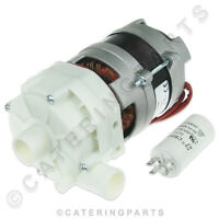 UNIVERSAL RINSE BOOSTER PUMP MOTOR FOR COMMERCIAL DISHWASHER OR GLASSWASHER