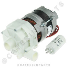 More details for universal rinse booster pump motor for commercial dishwasher or glasswasher