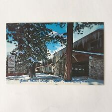 Garni Motor Lodge Lake Tahoe California Unposted Vintage Postcard