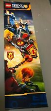 "Lego Nexo Knights Advertisement Store Banner Flag Display Sign 77"" x 23"" Nexo3"