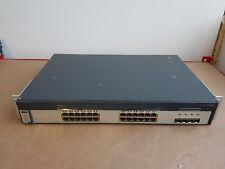 Conmutador de red Gigabit Cisco WS-C3750G-24TS-E