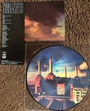 PINK FLOYD  ANIMALS  PICTURE DISC WITH COVER  LP VINYL !! RARO !!