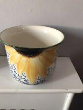 Poole pottery Vincent Sunflower Planter