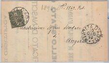 CREMONA --- ITALIA REGNO:  storia postale - BUSTA da: Rivolta d'Adda 1896