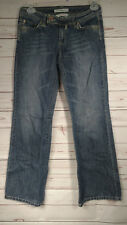 Tommy Hilfiger Extra Low-Rise Wide Leg Medium Wash Women's Jeans Sz.4