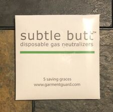 5 Subtle Butt Disposable Gas Neutralizes Fart Pads Saving Graces