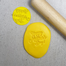 HAPPY MOTHERS DAY COOKIE STAMP - 40mm