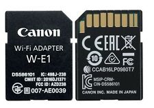 Canon W-E1 Wi-Fi Mobile Adapter for EOS 7D Mark II 5DS R DSLR