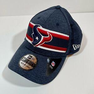 Houston Texans New Era Sideline 39THIRTY Flex Fitted Hat Cap Size Medium Large