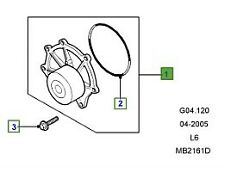 LAND ROVER GENUINE PUMP ASSEMBLY -WATER- Freelander (L314) - PEB102240L