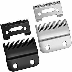 2 Sets Adjustable Clippers Blades Hole Hair Trimmer Replacement Blade for Wahl