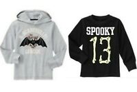NWT Gymboree Boys Halloween Spooky 13 and Scaresville Tees U-Pick Size 4, 5