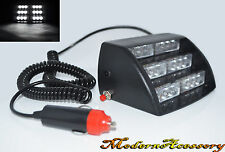 White 18 LED Strobe Police Emergency Flash Warning Light for Car/Truck A55