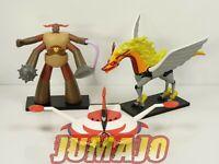 GOL3 LOT 3 figurines résine GO NAGAI HACHETTES 13 à 20 cm GOLDORAK + combattants