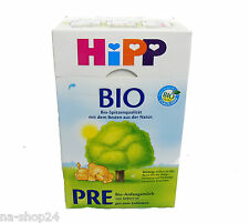 (21,65€/kg) 600g HIPP ORGANIC Infant formula PRE Use from birth