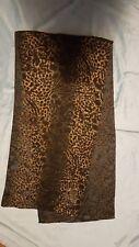 Ginger & Smart LADY'S JAGUAR PRINT silk scarf excellent condition