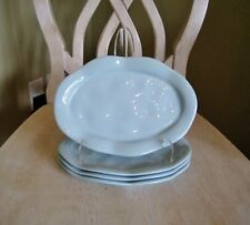 4 Demdaco Nancy Carter Cote d' Azur Oblong Salad Plates