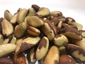Fresh Raw Brazil Nuts (No Shell, Premium, Whole, Natural, Non-GMO) 1 Pound