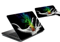 Laptop Skin & Mousepad Tattoo Abstract Cover Notebook Sticker Decal HP Dell Sony